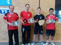 Les résultats aux championnats du Finistère